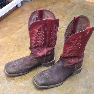Tony Lama Men's Square Toed Cowboy Boots